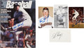 Autographs:Others, Goose Gossage Signed Lot of 5.... (Total: 5 items)