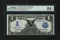 Large Size:Silver Certificates, Fr. 229a $1 1899 Silver Certificate PMG Choice Uncirculated 64EPQ....
