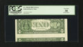 Error Notes:Inverted Reverses, Fr. 1928-B $1 2003 Inverted Reverse Federal Reserve Note. PCGS VeryFine 30.. ...