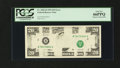 Error Notes:Missing Magnetic Ink, Fr. 2081-B $20 1995 Federal Reserve Note. PCGS Gem New 66PPQ.. ...