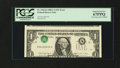 Error Notes:Inverted Third Printings, Fr. 1916-K $1 1988A Federal Reserve Note. PCGS Superb Gem New67PPQ.. ...