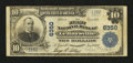 National Bank Notes:Pennsylvania, Le Raysville, PA - $10 1902 Plain Back Fr. 634 The First NB Ch. #6350. ...