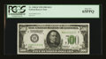 Small Size:Federal Reserve Notes, Fr. 2200-H $500 1928 Federal Reserve Note. PCGS Gem New 65PPQ.. ...