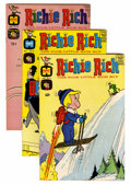 Silver Age (1956-1969):Humor, Richie Rich File Copies Group (Harvey, 1966-70) Condition: Average VF/NM.... (Total: 37 )