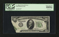 Error Notes:Foldovers, Fr. 2006-B $10 1934A Federal Reserve Note. PCGS Choice About New55PPQ.. ...