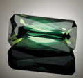 Gems:Faceted, GREEN TOURMALINE. ...