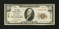 National Bank Notes:West Virginia, Hamlin, WV - $10 1929 Ty. 1 The Lincoln NB Ch. # 8171. ...