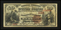 National Bank Notes:Virginia, Richmond, VA - $20 1882 Brown Back Fr. 495 NB of Virginia Ch. #1125. ...