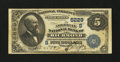 National Bank Notes:Virginia, Richmond, VA - $5 1882 Value Back Fr. 574 The American NB Ch. #(S)5229. ...