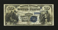 National Bank Notes:Virginia, Culpeper, VA - $20 1882 Value Back Fr. 581 The Second NB Ch. #(S)5394. ...