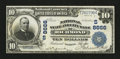 National Bank Notes:Virginia, Richmond, VA - $10 1902 Plain Back Fr. 627 National State Bank Ch.# (S) 8666. ...