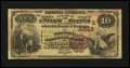 National Bank Notes:Tennessee, Knoxville, TN - $10 1882 Brown Back Fr. 485 The Holston NB Ch. #(S)4648. ...