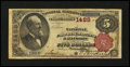 National Bank Notes:Maryland, Baltimore, MD - $5 1882 Brown Back Fr. 469 The National Union Bankof Maryland Ch. # 1489. ...