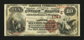Philadelphia, PA - $10 1882 Brown Back Fr. 484 The National Security Bank Ch. # (E)1743
