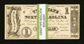 Obsoletes By State:North Carolina, Raleigh, NC- State of North Carolina $1 Sep. 1, 1862 Cr. 88 Thirty-four Examples . ... (Total: 34 notes)