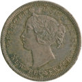 Canada:New Brunswick, Canada: New Brunswick. Victoria 5 Cents 1864 Small 6,...