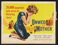 """Movie Posters:Drama, Unwed Mother (Allied Artists, 1958). Half Sheet (22"""" X 28"""") andLobby Cards (5) (11"""" X 14""""). Drama.. ... (Total: 6 Items)"""