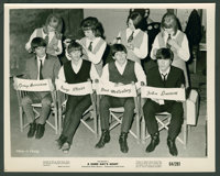 """A Hard Day's Night (United Artists, 1964). Stills (3) (8"""" X 10""""). Rock and Roll. ... (Total: 3 Items)"""
