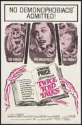 """Movie Posters:Horror, Twice Told Tales (United Artists, 1963). One Sheet (27"""" X 41""""). Horror.. ..."""