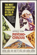 """Movie Posters:Horror, Psycho-Circus (American International, 1967). One Sheet (27"""" X 41""""). Horror.. ..."""