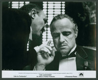 """The Godfather (Paramount, 1972). Stills (4) (8"""" X 10""""). Crime. ... (Total: 4 Items)"""