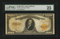 Large Size:Gold Certificates, Fr. 1220 $1000 1922 Gold Certificate PMG Very Fine 25....
