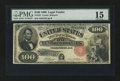 Large Size:Legal Tender Notes, Fr. 181 $100 1880 Legal Tender PMG Choice Fine 15....