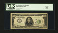 Small Size:Federal Reserve Notes, Fr. 2201-H* $500 1934 Federal Reserve Note. PCGS Very Fine 20.. ...