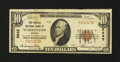 National Bank Notes:Virginia, Warrenton, VA - $10 1929 Ty. 1 The Peoples NB Ch. # 9642. ...