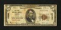 National Bank Notes:Virginia, Fries, VA - $5 1929 Ty. 1 The First NB Ch. # 12290. ...
