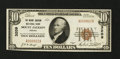 National Bank Notes:Virginia, Mount Jackson, VA - $10 1929 Ty. 1 The Mount Jackson NB Ch. # 3209....