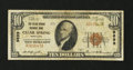 National Bank Notes:Maryland, Clear Spring, MD - $10 1929 Ty. 1 The Clear Spring NB Ch. # 9699....