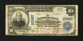 National Bank Notes:Missouri, North Kansas City, MO - $10 1902 Plain Back Fr. 629 The NB of NorthKansas City Ch. # 10367. ...