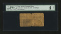 Colonial Notes:New Jersey, New Jersey October 20, 1758 12s PMG Good 4 Net....