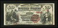 National Bank Notes:Pennsylvania, Schuylkill Haven, PA - $20 1882 Brown Back Fr. 504 The First NB Ch. # (E)5216. ...