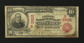 National Bank Notes:Arkansas, Little Rock, AR - $10 1902 Red Seal Fr. 613 The Exchange NB Ch. # (S)3300. ...