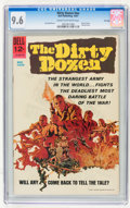 Silver Age (1956-1969):Miscellaneous, Movie Classics: Dirty Dozen #nn File Copy (Dell, 1967) CGC NM+ 9.6Cream to off-white pages....