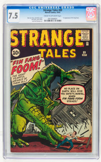 Strange Tales #89 (Marvel, 1961) CGC VF- 7.5 Cream to off-white pages