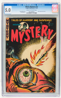 Mister Mystery #12 (Aragon, 1953) CGC VG/FN 5.0 Cream to off-white pages