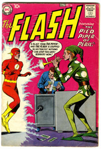 The Flash #106 (DC, 1959) Condition: VG