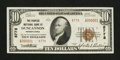 National Bank Notes:Pennsylvania, Duncannon, PA - $10 1929 Ty. 2 The Peoples NB Ch. # 8778. ...