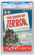 Golden Age (1938-1955):Horror, House of Terror #1 (St. John, 1953) CGC VF/NM 9.0 Off-whitepages....