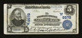 National Bank Notes:Colorado, Colorado Springs, CO - $5 1902 Plain Back Fr. 600 The ColoradoSprings NB Ch. # (W)8572. ...