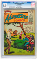 Golden Age (1938-1955):Science Fiction, Adventure Comics #201 (DC, 1954) CGC FN 6.0 Cream to off-whitepages....