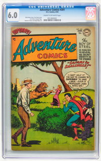 Adventure Comics #201 (DC, 1954) CGC FN 6.0 Cream to off-white pages