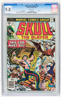 Bronze Age (1970-1979):Adventure, Skull, the Slayer #8 (Marvel, 1976) CGC NM/MT 9.8 White pages....
