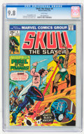 Bronze Age (1970-1979):Adventure, Skull, the Slayer #4 (Marvel, 1976) CGC NM/MT 9.8 White pages....