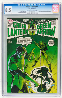 Green Lantern #76 (DC, 1970) CGC VF+ 8.5 Off-white to white pages