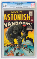Silver Age (1956-1969):Horror, Tales to Astonish #17 (Marvel, 1961) CGC FN/VF 7.0 Off-white towhite pages....