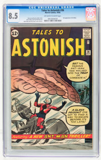 Tales to Astonish #36 (Marvel, 1962) CGC VF+ 8.5 Off-white to white pages